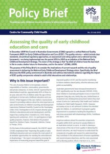 Policy brief out now centre for community child health for Policy brief example template