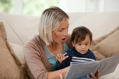 Reading to children from birth lays the foundations for literacy skills