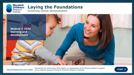 Laying the Foundations eLearning