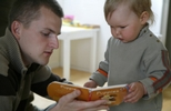 Dads improve language outcomes