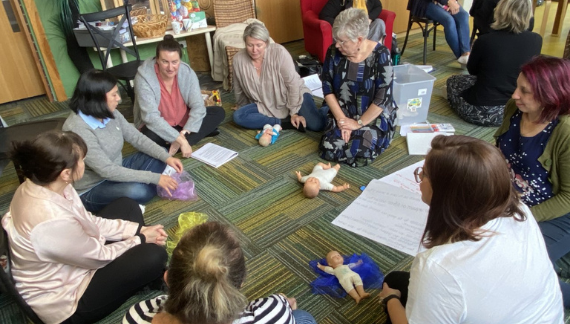 Baby & Us: New parent-led course