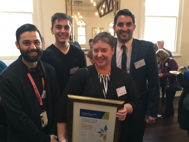 RCH volunteers receive Minister for Health Award
