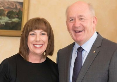 Judith Glazner recognised for her contribution to the Cystic Fibrosis community