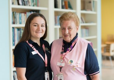 Celebrating RCH's oldest and youngest volunteers