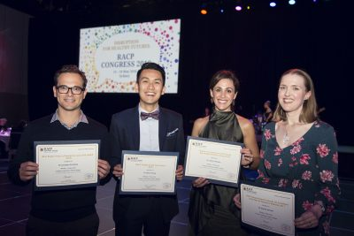 RCH wins four awards for excellence at RACP Congress