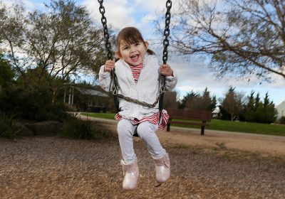 Donor kidney gave little Aubree a new lease on life.