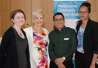 Melbourne Children's Global Health launch