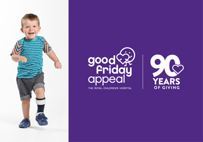 Introducing the face of the 2021 Good Friday Appeal