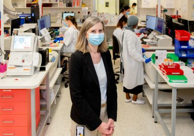 Champions for Children: Meet Laboratory Services Director Dr Helen