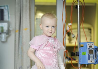 Such Grace and strength – Little RCH patient is an inspiration to all around her